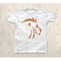 Camiseta Traços Leão Reggae