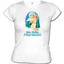 Camiseta Mãe Rainha Malha Pv