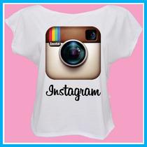 Blusa Feminina Instagram, Rede Social, Fashion, Internet