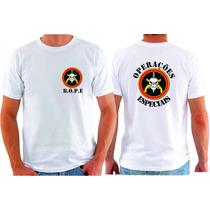 Camiseta Bope Policia Militar Operações Especiais