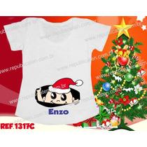 Natal Blusa Bata Gravida Gestante Bebe Noel Espiando Festa
