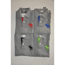 Camiseta Gola Polo Abercrombie - Cores - Original- Importada