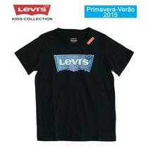 Camiseta Faux Applique Denim Levis Kids