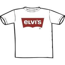 Camiseta Elvis Presley- Elvis Levis (chega De Mesmice)