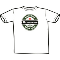 Camiseta Jeff Hanneman - Heineken Slayer (chega De Mesmice)