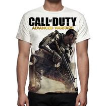 Camisa, Camiseta Game Call Of Duty Advanced Warfare
