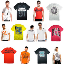 Camisetas Armani Exchange Affliction Dsquared Throwdown Mma