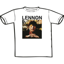 Camiseta John Lennon - The Beatles (chega De Mesmice)