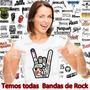 Camiseta Rock Temos Todas As Bandas De Rock Roll Do Mundo