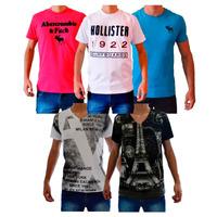 Camisetas Abercrombie & Fitch, Hollister E Armani Exchange !
