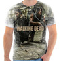 Camisa, Camiseta The Walking Dead - Mod 02 Fullprint