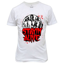 Camiseta Ou Baby Look Bee Gee Zombies