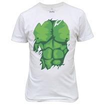 Camiseta Ou Baby Look Transformação Do Hulk Marvel