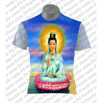 Camiseta Personalizada - Kuan Yin - Deusa Chinesa
