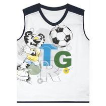 Camiseta Regata Branco Tigor T. Tigre Tam 4