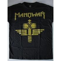 Camiseta Manowar - Sign Of The Hammer - Black Angel