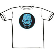 Camiseta - Breaking Bad -mr. White Blue Crystal Só Nó Temos