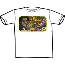 Camiseta Jorge Ben - Estampas Mpb Rock Nacional Aqui