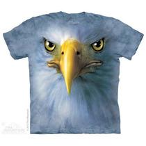 Camisa 3d Eagle Face The Mountain Original