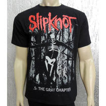 Camiseta De Banda - Slipknot - .5: The Gray Chapter