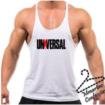 Camiseta Regata Super Cavada Universal Musculação Academia