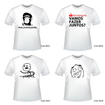 Camiseta Personalizada Criativas Engraçadas Frete Grátis
