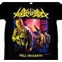 Camiseta Toxic Holocaust - Hell On Earth (tamanho G)