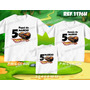 Lembrança De Aniversario Hot Wheels Carro Kit Camisetas C/ 3