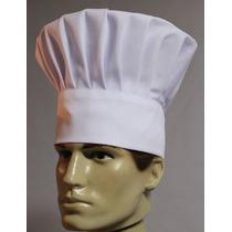 Chapéu Chef Branco Ou Preto, Gastronomia Cozinha Mestre Cuca