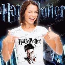 Camiseta Harry Potter Rony E Hermione Hogwarts Baby Look