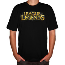 Camiseta Game Lol League Of Legends