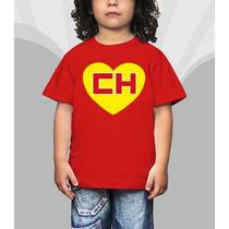 Camiseta Super Herois Chapolin Infantil Desenho Chaves Super