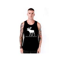 Camiseta Regata Abercrombie & Fitch - 100% Qualidade !!!