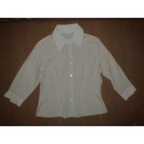 Camisa Feminina Listrada Annexe - Tamanho 44