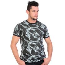 Camiseta Militar Hunter Camuflada Exclusiva 100% Algodão