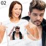 Camiseta Lucas Lucco Cantor Sertanejo Romantico Baby Look
