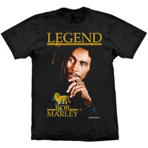 Camiseta Bob Marley Legend Stamp