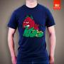 Camisetas Garfield He-man Gato Guerreiro Desenho Animado