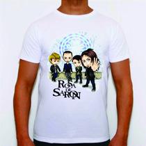 Camisa Camiseta Personalizada Banda Gospel Rosa De Saron Plt