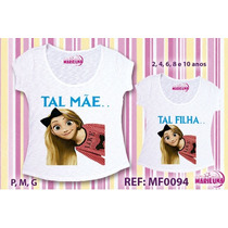 Tshirt Tal Mãe Tal Filha 5 Conjuntos Camisetas Atacado Roupa
