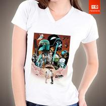 Camisetas Star Wars Poster Guerra Nas Estrelas Filme