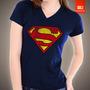 Camisetas Superman Tv Desenho Heroi Man Of Steal Super Homem