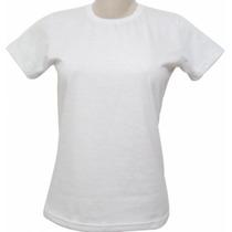 Camisetas Infantil 100% Poliéster Branca