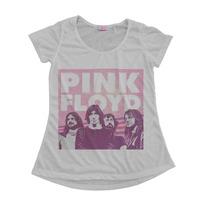 Blusinha Camiseta T-shirt Feminina Pink Floyd