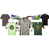 05 Camisas Abercrombie, Hollister, Aeropostale 100% Original