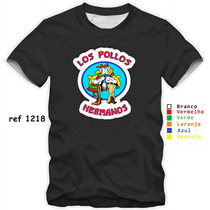 Camisa Personalizada Breaking Bad Los Pollos Hermanos