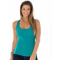 Kit 10 Camiseta Regata Nadador Feminina, Fitness Promoção