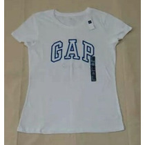 Gap Blusinha Branca Bordada - Original - Miami Eua