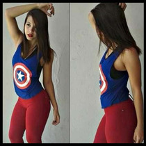 5 Camisetas Regatas Femininas Academia - Estampas Fitness