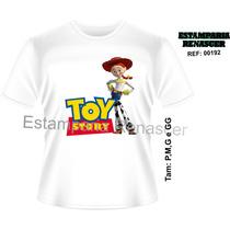 Camiseta Infantil Toy Story Personalizada